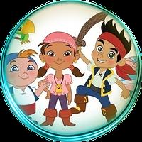 Джейк и пираты нетландии 10  Вафельная картинка