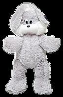 """Меховый зайчишка """"Снежок"""" 65 см."""