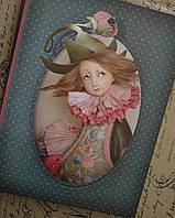 Тетрадь для эскизов от Тамары Пивнюк, 48 листов,  16,5см*22см.