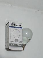 Светодиодная лампа Feron LB380 E14 4W 2700К (белый теплый)