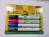Набор маркеров для досок 4шт. VGR