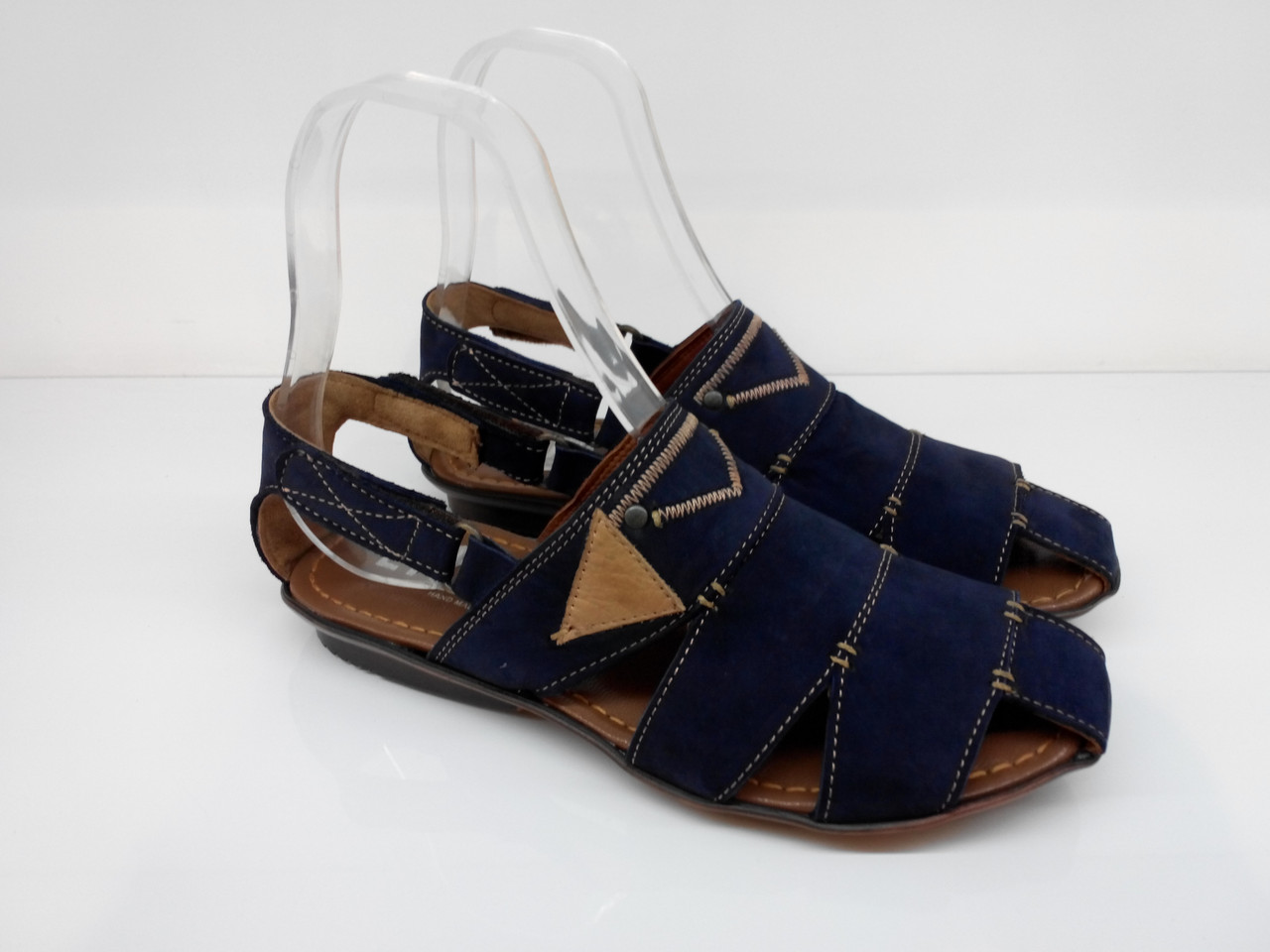 Сандалии  Etor 671-7185 синие