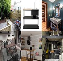 Мебель и элементы интерьера в стиле Loft