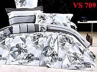 Постельное белье, полуторка, сатин, Вилюта (Viluta)  VS 709