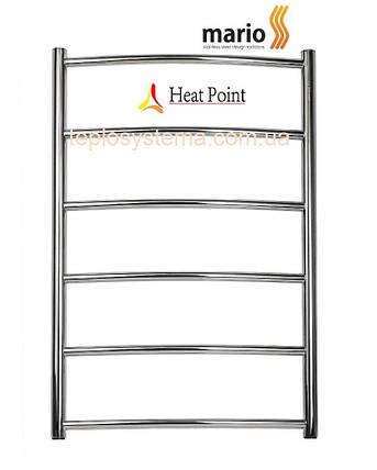 Полотенцесушитель MARIO Классик HP 1550x530/500 (Heat Point) водяной , фото 2
