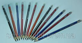 Графітний олівець трикутний з ластиком Marco Grip-Rite 9001EM-48CB