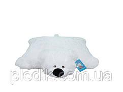 Подушка-игрушка Мишка 55 см. белый