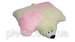 Подушка-игрушка Мишка 55 см. разноцветный