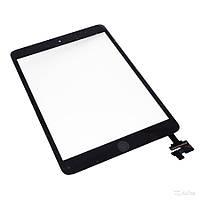Сенсорный экран для планшетов Apple iPad Mini, iPad Mini 2 Retina, черный, с кнопкой HOME, с микросхемой