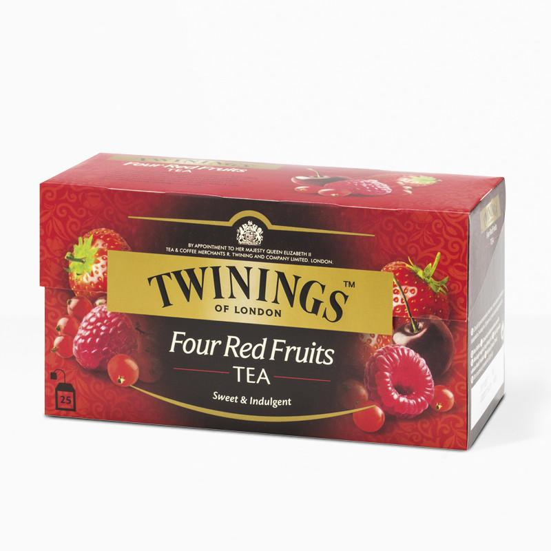 Чай черный Twinings Красные ягоды, 25п.х2г