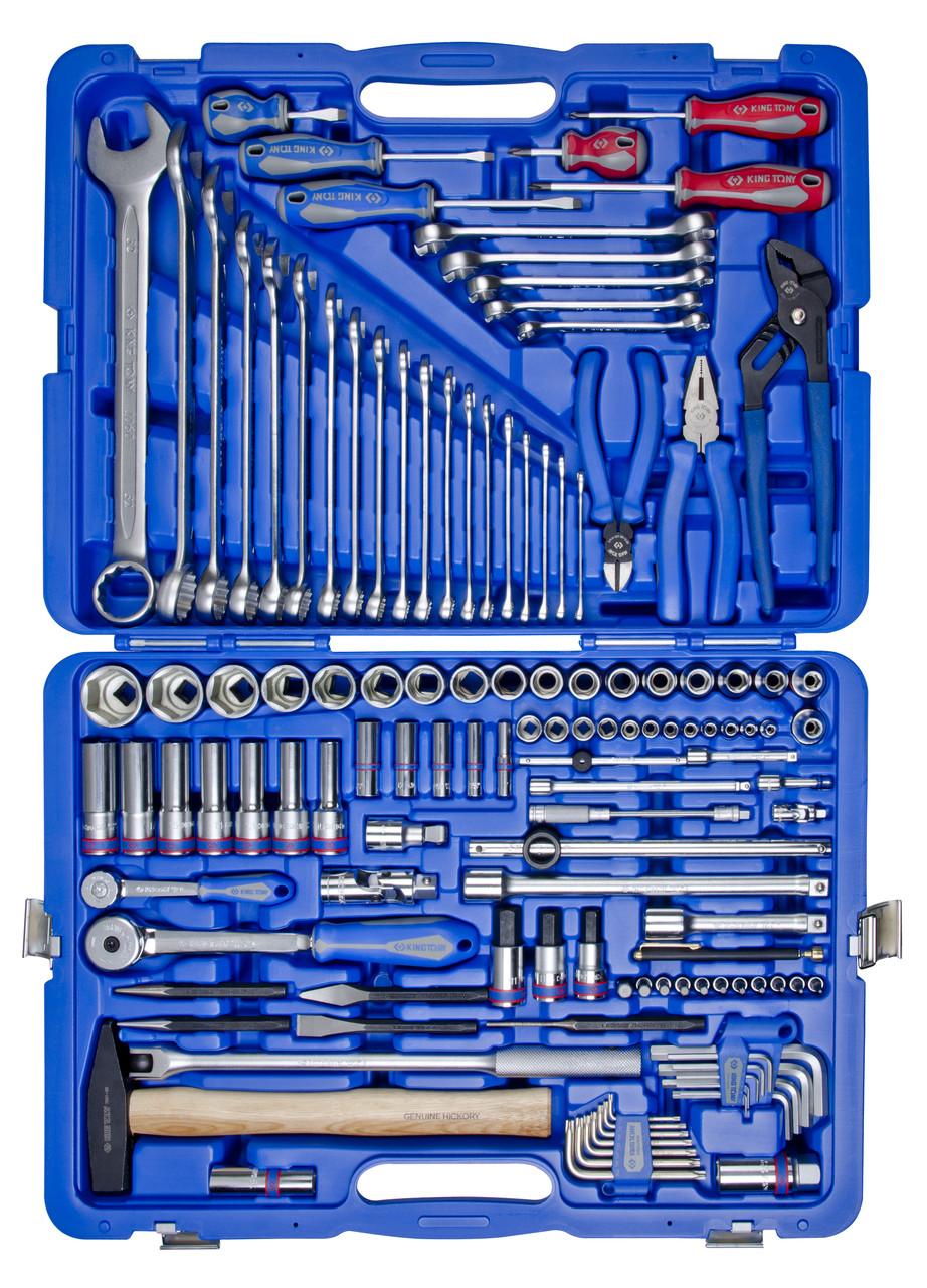 Набор инструментов 128 ед. 1/4'+1/2' KINGTONY 7528MR