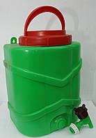 Рукомойник пластмассовый 10 литров с краном, фото 1
