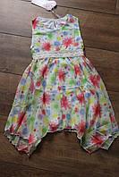 Шифоновое платье для девочек 4- 10 лет