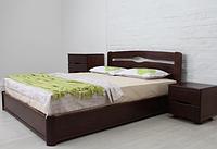 Кровать деревянная Нова с подъемной рамой /  Ліжко дерев'яне Нова з підйомною рамою