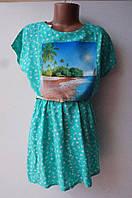 Платье штапик(париж)