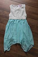 Платье для девочек. 4 и 6 лет