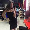 Платье с открытыми плечами и рюшей по низу, фото 2