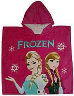 """Пончо пляжне (дитяче) """"Frozen"""" Piramit"""