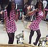 Трикотажное платье с принтом гороха, фото 4