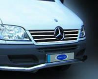 Mercedes Sprinter 901 передняя решетка 00-02 нерж