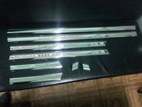Mercedes W124 молдинг дверей нерж