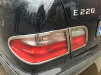 Mercedes W210 на стопы пласт