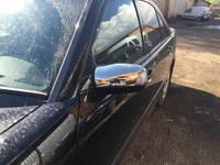 Mercedes W210 накладки на зеркала нерж (поворотник)
