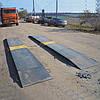 Ваги автомобільні підкладні для єврофур AXIS 15-П (в динаміці)