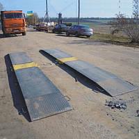 Ваги автомобільні підкладні для єврофур AXIS 15-П (в динаміці), фото 1
