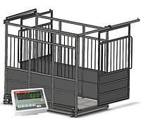 Ваги для тварин (худоби) AXIS 4BDU600Х-1220-Р-П розсувні двері