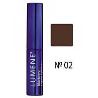 LU Blueberry Liquid Eyeliner - Подводка для глаз с черникой (02-темно-коричневый), 2,8 мл
