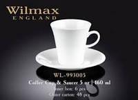 Чашка кофейная&блюдце 110мл Wilmax.