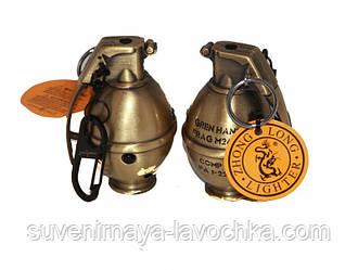 Зажигалка газовая граната маленькая