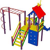 """Детский комплекс Kidigo """"Умелые ручки"""" высота горки 1,5 м"""