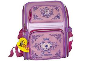 Рюкзак шкільний каркасний для дівчинки WILLY 34*25*11 см WL823