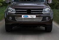 Volkswagen Amarok Решетка в бампер из нержавейки