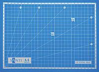 Коврик (мат) самовосстанавливающийся для резки, А4