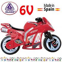 Детский электроавтомобиль мотоцикл съемные колеса Injusa 646, фото 3