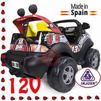 Детский автомобиль на батареи 12 V Dark Пожарный  injusa 780, фото 2