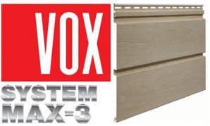 Стеновой сайдинг VOX система MAX-3
