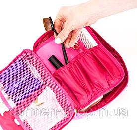 Органайзер для косметики - розовый