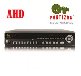 Видеорегистраторы AHD Partizan