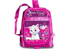 Рюкзак шкільний каркасний для дівчинки WILLY WL822 35*28*16 см