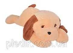 Мягкая игрушка Собака Тузик 50 см. персик