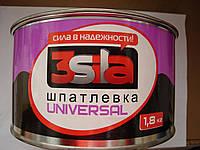Автомобильная шпатлевка универсальная 3Sila (1.8 кг)