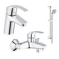 Набор для ванны 3 в 1 Grohe Eurosmart NEW