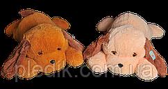 Мягкая игрушка Собака Тузик 65 см. медовый