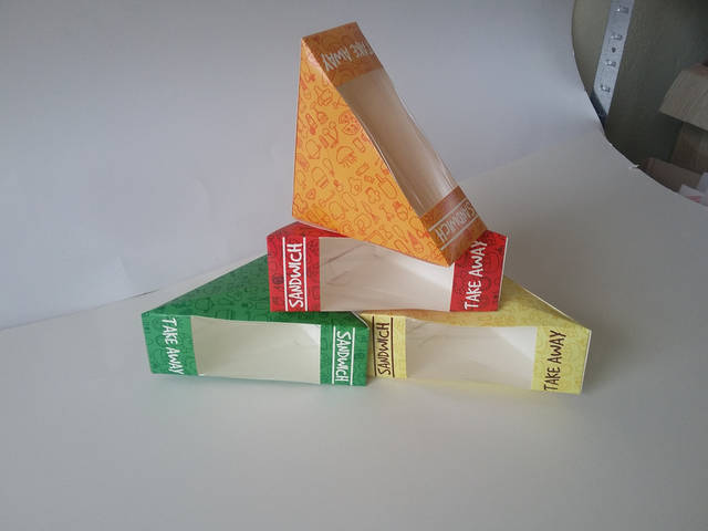 Производство упаковок для фаст фуда 10