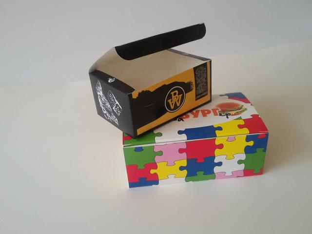 Производство упаковок для фаст фуда 15