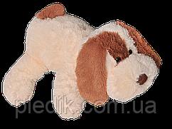 Мягкая игрушка Собака Шарик 75 см. Персиковый
